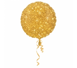 "Folinis balionas ""Aukso blizgis"" (43 cm)"