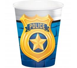 """Puodeliai """"Policininkai"""" (8 vnt./266 ml)"""