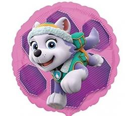 """Folinis balionas """"Šuniukai Patruliai"""", rožinis (43 cm)"""