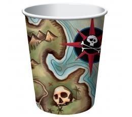 """Puodeliai """"Piratų lobis"""" (8 vnt./266 ml)"""