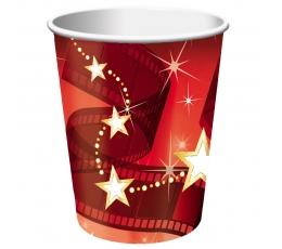"""Puodeliai """"Holivudo žvaigždės"""" (8 vnt./266 ml)"""