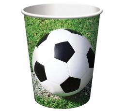 """Puodeliai """"Futbolas""""(8 vnt./266 ml)"""