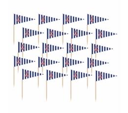 "Smeigtukai-vėliavėlės ""Jūreiviai"" (36 vnt.)"
