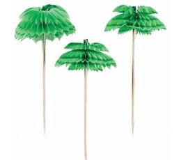 "Smeigtukai-dekoracijos ""Palmės"" (12 vnt./7 cm)"
