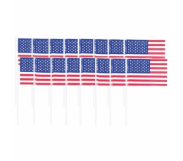 "Smeigtukai-vėliavėlės ""Amerika"" (120 vnt.)"