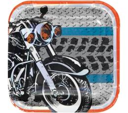 "Lėkštutės ""Motociklai"" (8 vnt./17 cm)"
