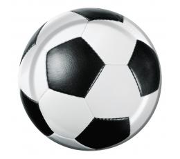 "Lėkštutės ""Futbolo  kamuolys"" (8 vnt./18 cm)"