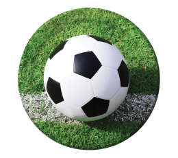 "Lėkštutės ""Futbolas"" (8 vnt./22 cm)"