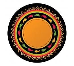 """Lėkštutės """"Kartą Meksikoje"""" (8 vnt./22 cm)"""