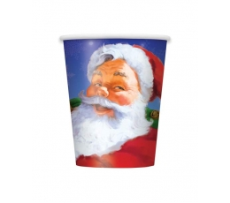 """Puodeliai """"Kalėdų senelis"""" (8 vnt./266 ml)"""