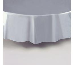 Staltiesė, sidabrinė apvali (2,13 m)