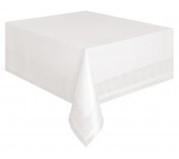 Staltiesė, balta popierinė (137x274 cm)