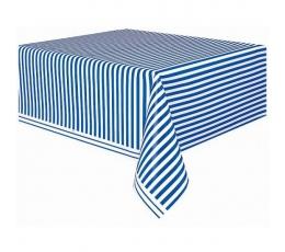 Staltiesė, mėlynai dryžuota (137x274 cm)