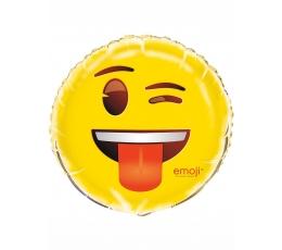 """Folinis balionas """"Emoji-Šypseniukai"""" (45 cm)"""