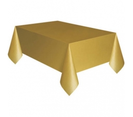 Staltiesė, auksinė (137x274 cm)