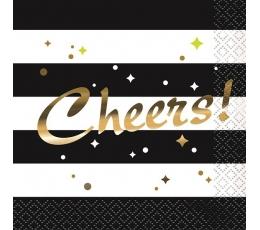 "Kokteilinės servetėlės ""Cheers"" (16 vnt.)"