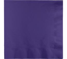 Servetėlės, violetinės (20 vnt.)