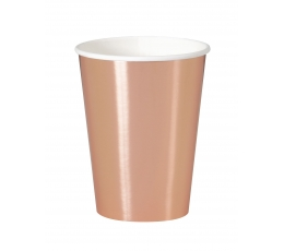 """Puodeliai """"Rožinis auksas"""" (8 vnt./355 ml)"""