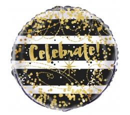 "Folinis balionas ""Celebrate"" (45 cm)"
