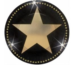 """Lėkštutės """"Holivudo žvaigždė"""" (8 vnt./18 cm)"""