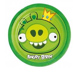 "Lėkštutės ""Angry birds"" (8 vnt./18 cm)"