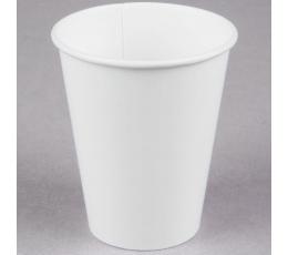 Puodeliai, balti (24 vnt./266 ml)