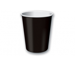 Puodeliai, juodi (24 vnt./266 ml)