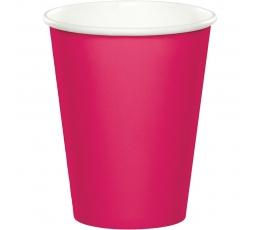 Puodeliai, ryškiai rožiniai (24 vnt./266 ml)