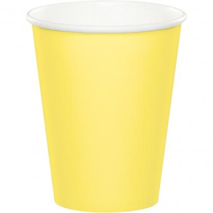 Puodeliai, gelsvi (24 vnt./266 ml)