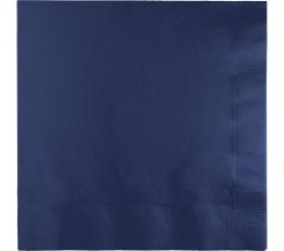 Servetėlės, tamsiai mėlynos (50 vnt.)