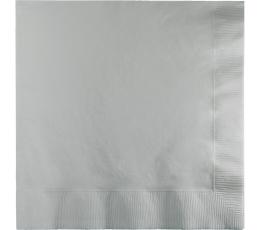 Servetėlės, pilkos (50 vnt.)