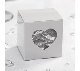 """Dovanų dėžutė su langeliu """"Širdelės"""""""