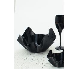 Plastikinis dubenėlis, juodas (22,5x12 cm)