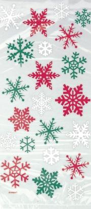 """Dovanų maišeliai """"Kalėdinės snaigės"""" (20 vnt.)"""