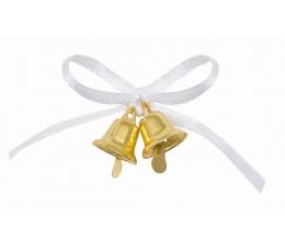 """Dovanėlės-dekoracijos """"Auksiniai varpeliai"""" (12 vnt.)"""