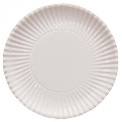 Lėkštutės-padėkliukai, balti (10 vnt./ 29 cm)