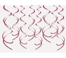 """Kabančios dekoracijos """"Raudoni suktukai"""" (8 vnt.)"""