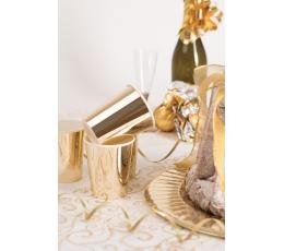 Puodeliai, žvilgantys auksiniai (8 vnt./250 ml)