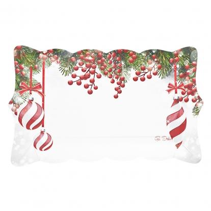 """Padėkliukai """"Kalėdų vaišės"""" (4 vnt.)"""