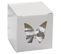 """Dovanų dėžutė su langeliu """"Drugeliai"""""""