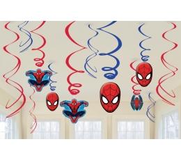 """Kabančios dekoracijos """"Žmogus voras"""" (12 vnt.)"""