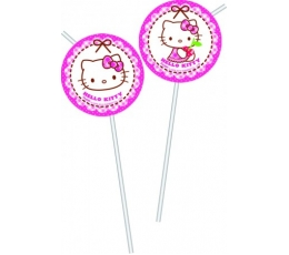 "Šiaudeliai ""Hello Kitty"" (6 vnt.)"