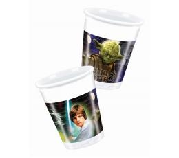 """Plastikiniai puodeliai """"Žvaigždžių karai"""" (8 vnt./200 ml)"""