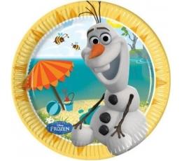 "Lėkštutės ""Olafo vasara"" (8 vnt./20 cm)"