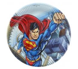 """Lėkštutės """"Supermenas"""" (8 vnt./23 cm)"""