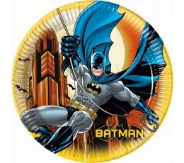 "Lėkštutės ""Betmenas"" (8 vnt./23 cm)"