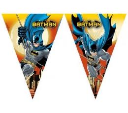 """Vėliavėlių girlianda """"Betmenas"""" (9 vėliavėlės)"""
