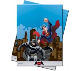 """Staltiesė """"Betmenas prieš Supermeną"""" (120x180 cm)"""
