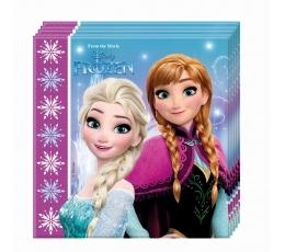 """Servetėlės """"Frozen"""" (20 vnt.)"""