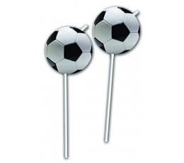 """Šiaudeliai """"Futbolas"""" (6 vnt.)"""